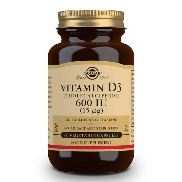Vitamin D 3 600iu Cholecalciferol 15ug