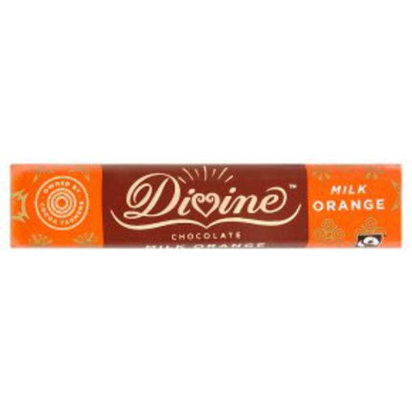 Orange Milk Chocolate FairTrade