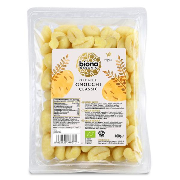 Fresh Pasta Gnocchi egg free, ORGANIC