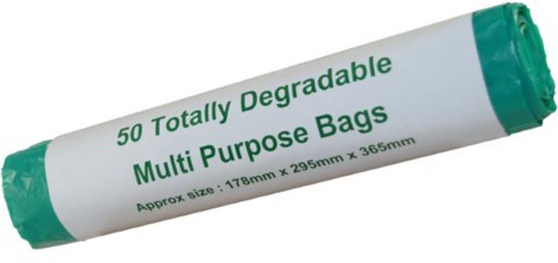 Degradeable Refuse Sacks