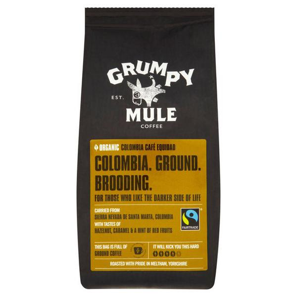 Ground Coffee Colombia FairTrade, ORGANIC