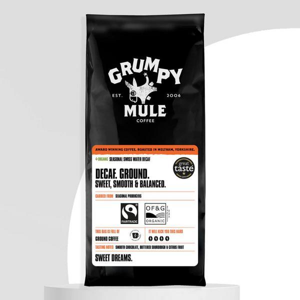 Decaffeinated Ground Columbia Coffee ORGANIC