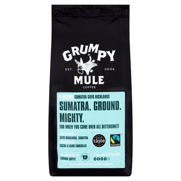 Ground Coffee Sumatra FairTrade, ORGANIC