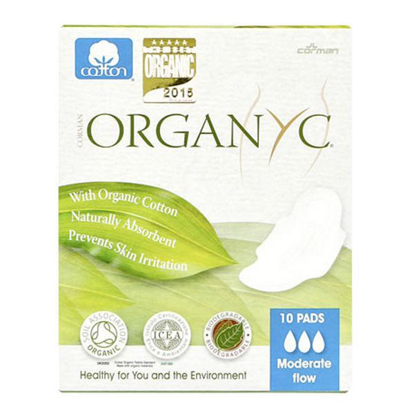 Feminine Hygiene Pads Moderate ORGANIC