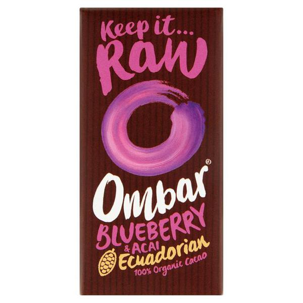 Blueberry & Acai Raw Chocolate Gluten Free, ORGANIC