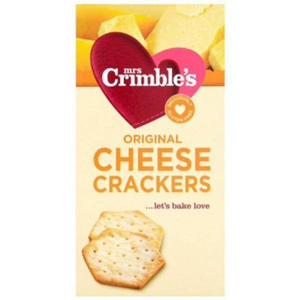 Original Cheese Crackers Gluten Free, wheat free