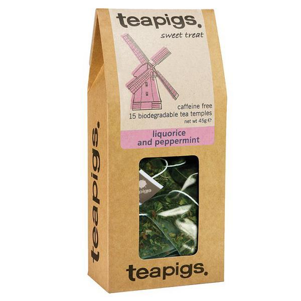Liquorice Root & Peppermint Tea