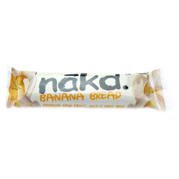 Banana bread banana bread snackbar raw in 30g bar from nakd for Raw food bars uk