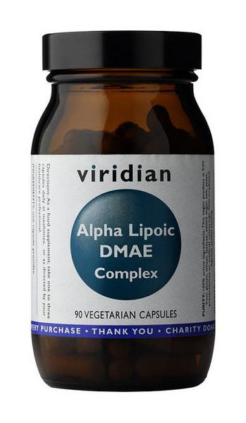 Alpha Lipoic Acid DMAE Complex Supplement Vegan