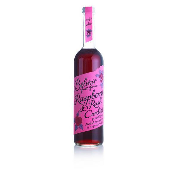 Raspberry & Rose Cordial Vegan