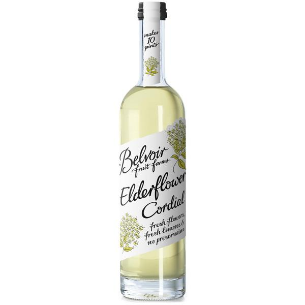 Elderflower Cordial in 50cl from Belvoir