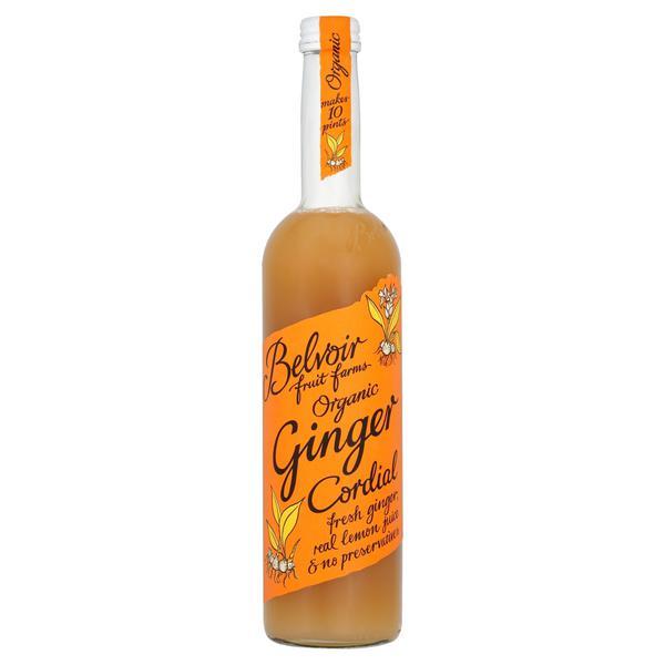 Ginger Cordial Vegan, ORGANIC