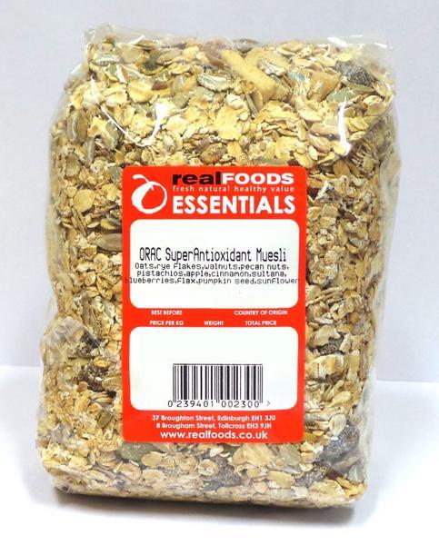 ORAC Super Fruit & Nut Muesli wheat free image 2