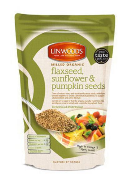 Milled Flax,Sunflower & Pumpkin Seed Mix Gluten Free, ORGANIC