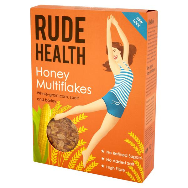 Honey Multigrain Cereal Flakes no added salt, no added sugar
