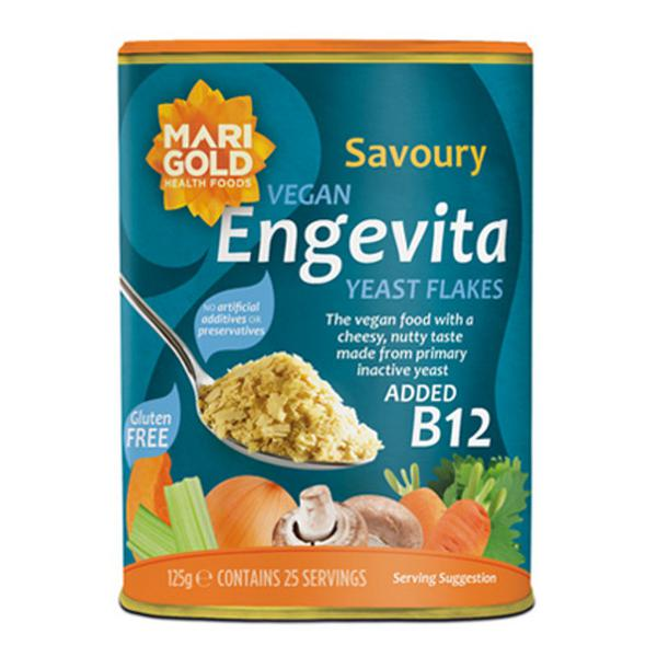 Engevita Nutritional Yeast Flakes with added B12 Gluten Free