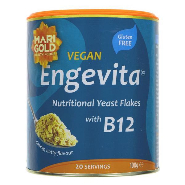 Engevita Nutritional Yeast Flakes with added B12 Gluten Free