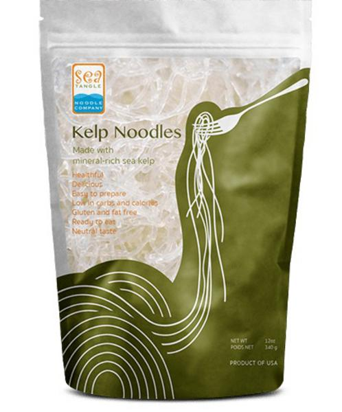 Kelp Noodles Plain in 908g from Sea Tangle