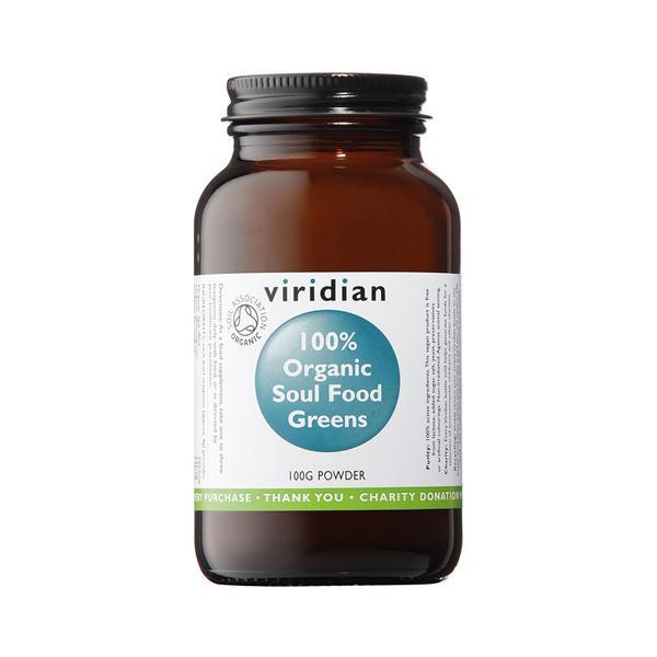 Supplement Soul Food Greens Powder ORGANIC