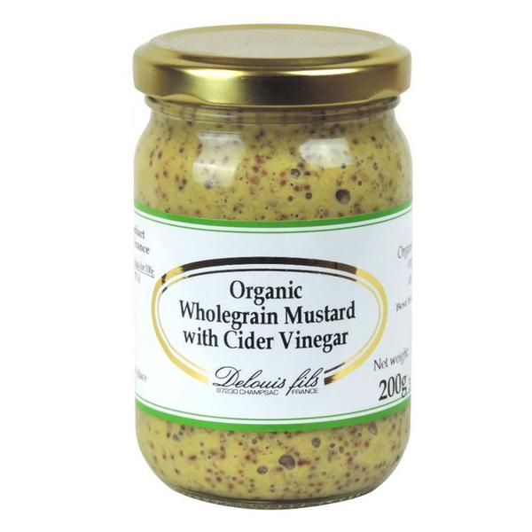 Wholegrain Cyder Vinegar Mustard ORGANIC