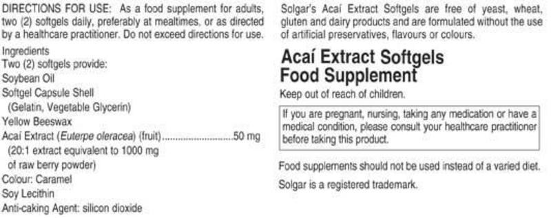 Acai Extract  image 2