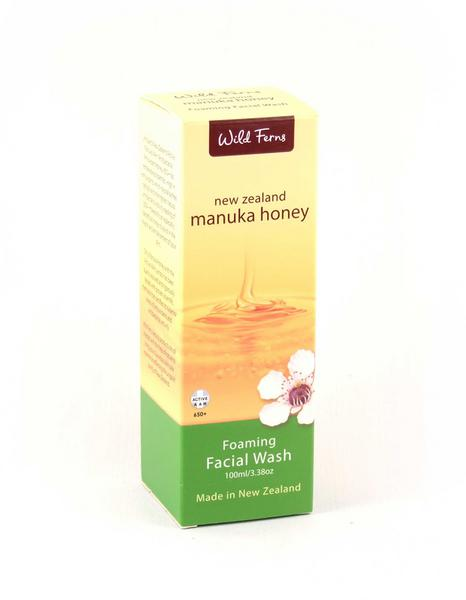 Foaming Facial Wash Manuka Honey New Zealand