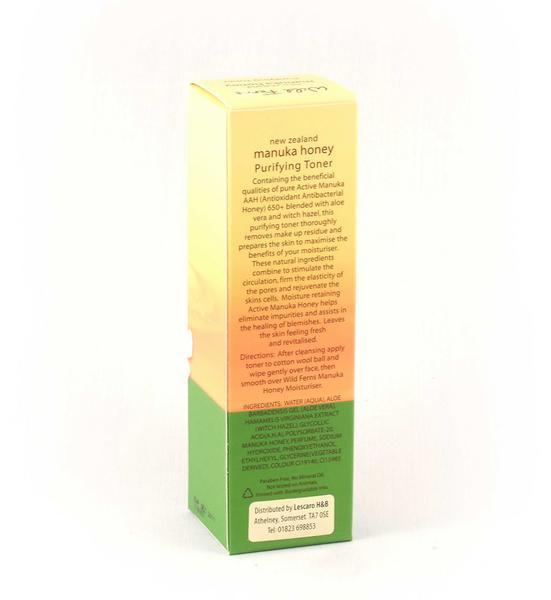 Purifying Toner Manuka Honey New Zealand  image 2
