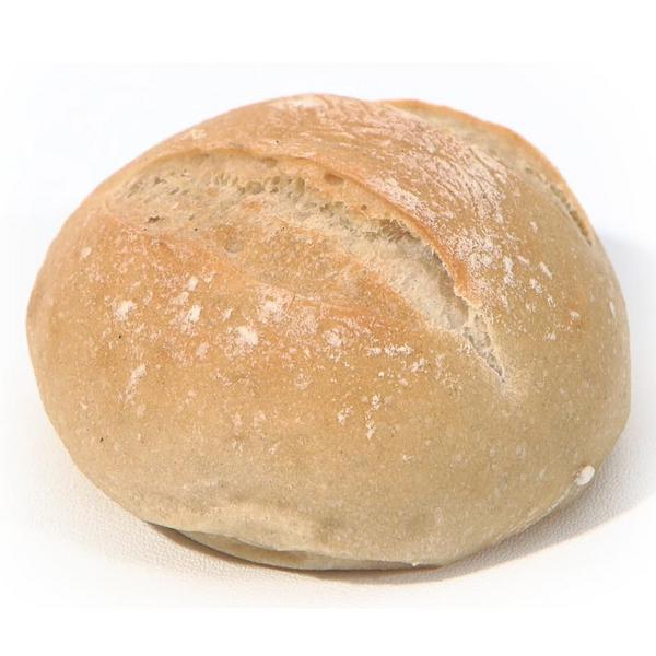 White Bap Round