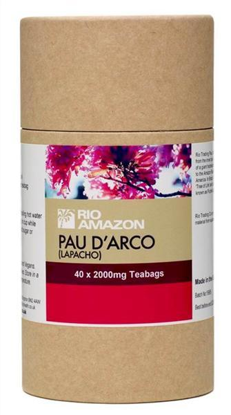 Rio Trading Pau D'Arco Lapacho Tea-Bags