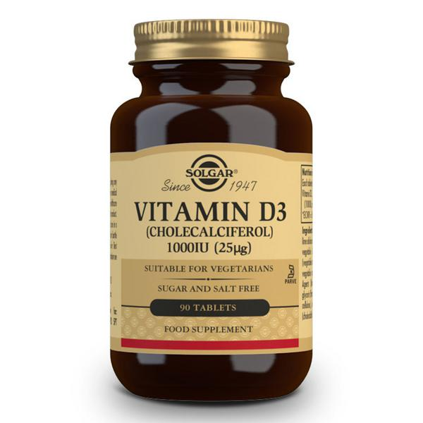 Vitamin D 3 Cholecalciferol 1000iu 25ug