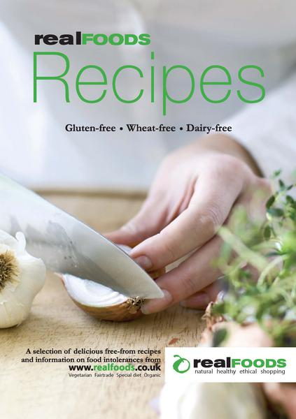 Free From Recipe Booklet
