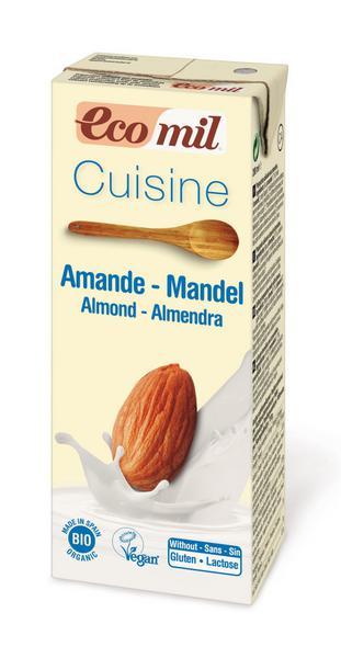 Cream Almond Cuisine Chef dairy free, Vegan, ORGANIC