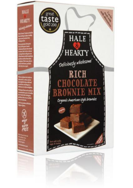 Rich Chocolate Brownie Mix Gluten Free, ORGANIC
