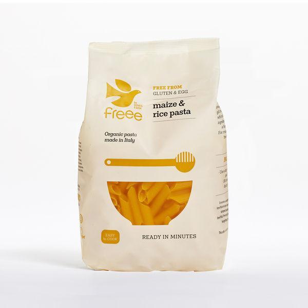 Maize & Rice Penne Pasta Gluten Free, ORGANIC