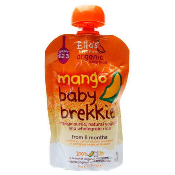 Baby Brekkie Mango Baby Food ORGANIC
