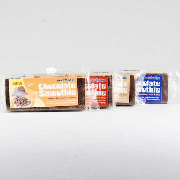 Chocolate Smoothie Snackbar wheat free
