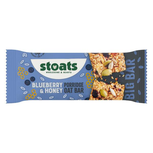 Blueberry & Honey Porridge Oats Snackbar