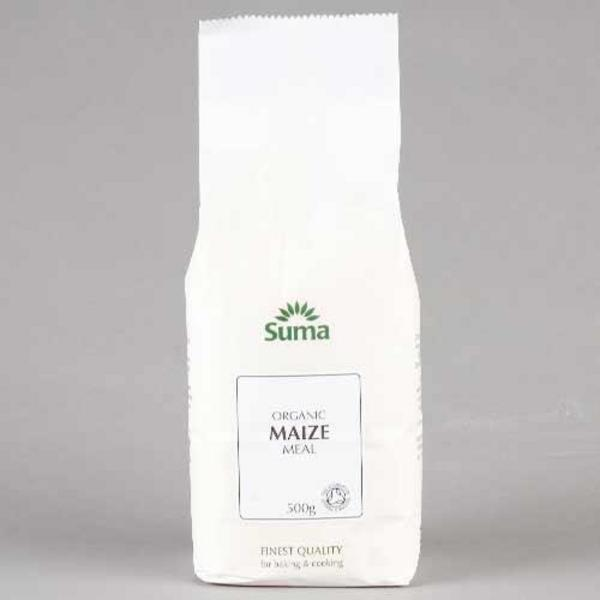 Maize Meal Flour No Gluten Containing Ingredients, ORGANIC