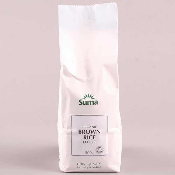 Brown Rice Flour No Gluten Containing Ingredients, ORGANIC