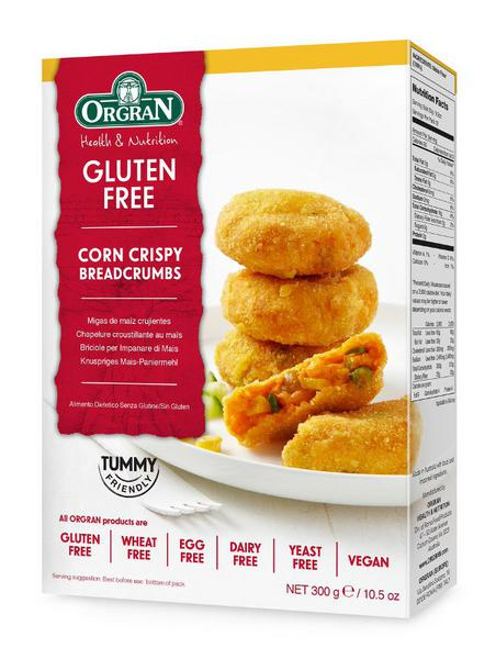 Orgran Corn Crispy Crumb Gluten Free, Vegan 300g