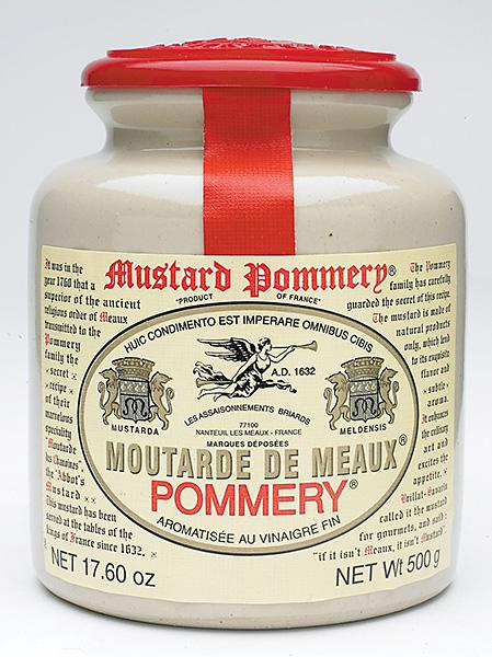 Mustard Moutarde De Meaux In 500g From House Of Pommery