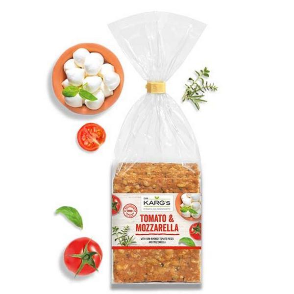 Tomato & Mozzarella Crispbreads ORGANIC