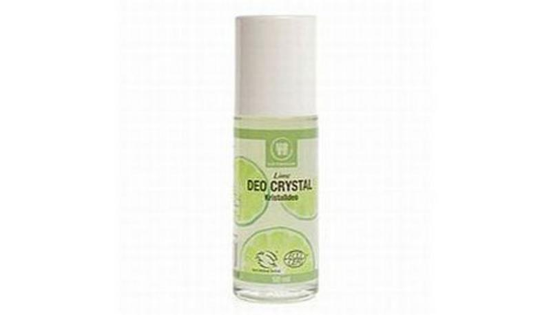 how to use crystal deodorant roll on