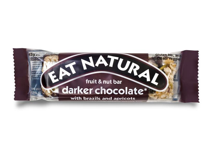 Chocolate,Brazil & Apricot Cereal Bar Dark 70% Gluten Free
