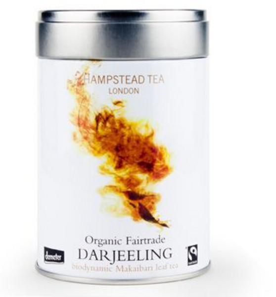 Darjeeling Tea Gift Caddy FairTrade, ORGANIC