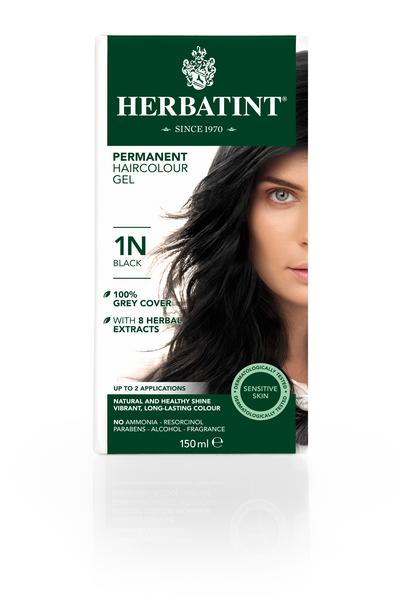Permanent Black 1N Hair Dye Vegan