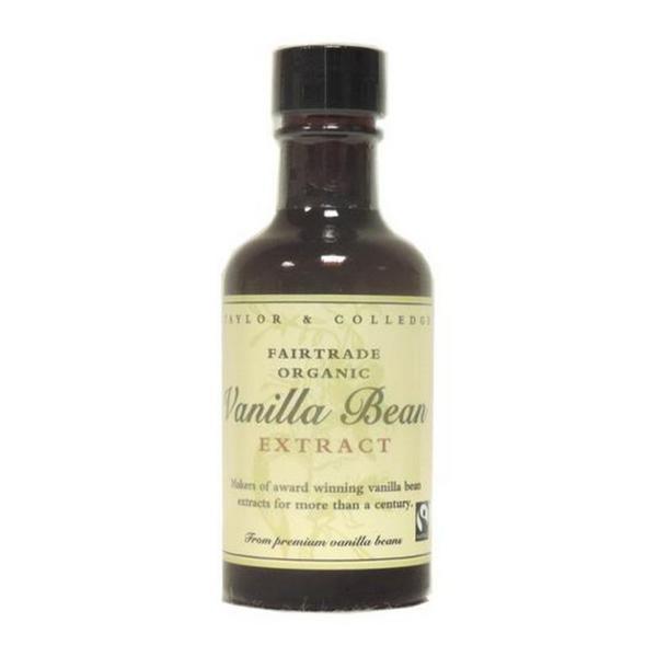 Vanilla Bean Extract FairTrade, ORGANIC