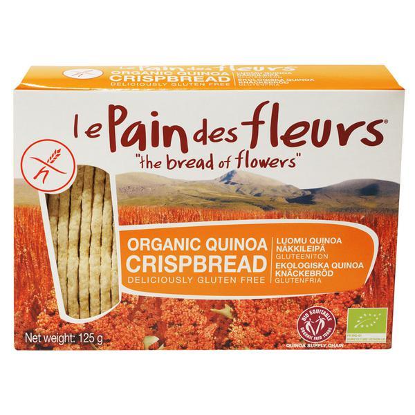 Quinoa Crispbreads Gluten Free, FairTrade, ORGANIC
