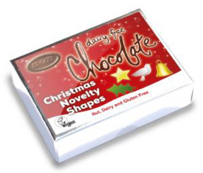 Christmas Novelty Shapes Chocolate Gluten Free, Vegan