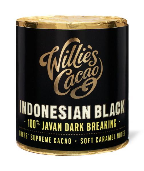 100% Cacao Indonesia Black Javan Dark Breaking for Cooking Vegan